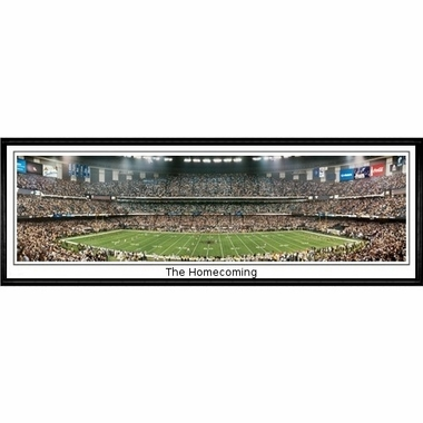 New Orleans Saints The Homecoming Framed Panoramic Print