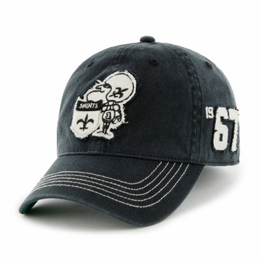 New Orleans Saints Throwback Badger Franchise Flex Fit Hat