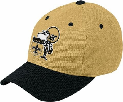 New Orleans Saints Throwback Logo Adjustable Hat