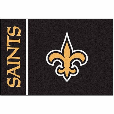 New Orleans Saints Uniform Inspired 20 x 30 Rug