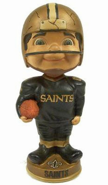New Orleans Saints Vintage Retro Bobble Head