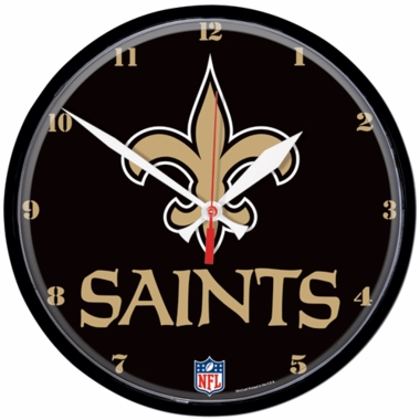 New Orleans Saints Wall Clock