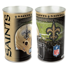 New Orleans Saints Waste Paper Basket