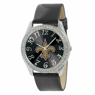 New Orleans Saints Women's Glitz Watch