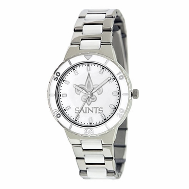 New Orleans Saints Women's Pearl Watch
