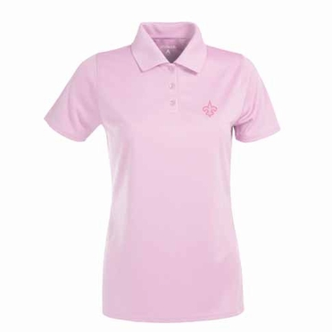 New Orleans Saints Womens Exceed Polo (Color: Pink)