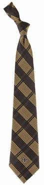 New Orleans Saints Woven Plaid Necktie