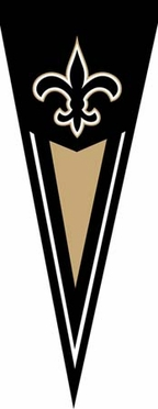 New Orleans Saints Yard Pennant