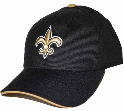 New Orleans Saints Youth Adjustable Slouch Hat