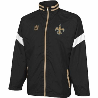 New Orleans Saints YOUTH Goal Post Lightweight Full Zip Jacket