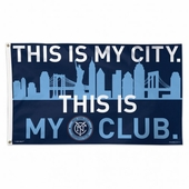 New York City FC Flags & Outdoors