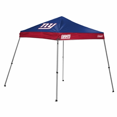 New York Giants 10 x 10 Slant Leg Shelter