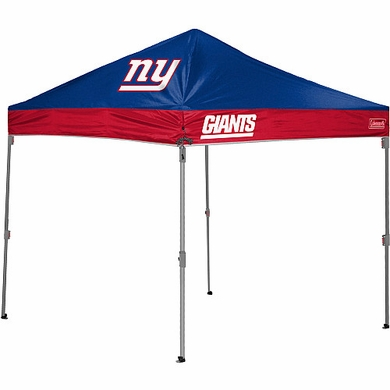 New York Giants 10 x 10 Straight Leg Shelter