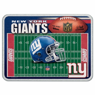 New York Giants 11 x 15 Glass Cutting Board
