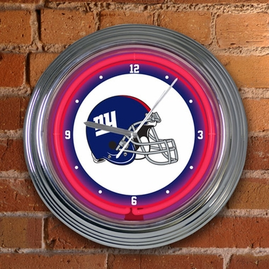 New York Giants 15 Inch Neon Clock