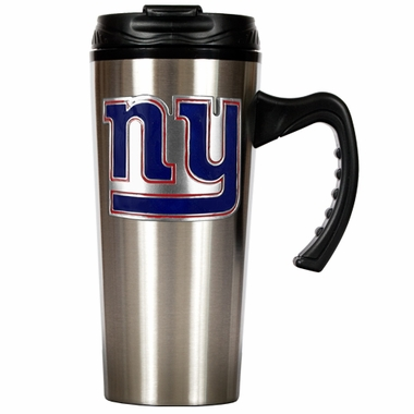 New York Giants 16 oz. Thermo Travel Tumbler (Slim)