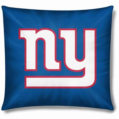 New York Giants 18 Inch Toss Pillow
