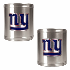 New York Giants 2 Can Holder Set