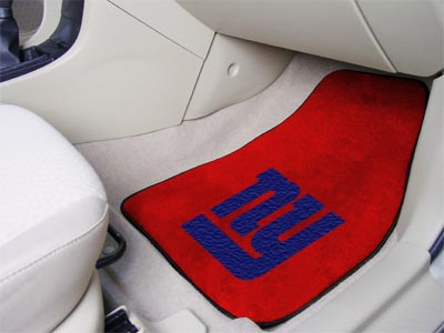 New York Giants 2 Piece Car Mats