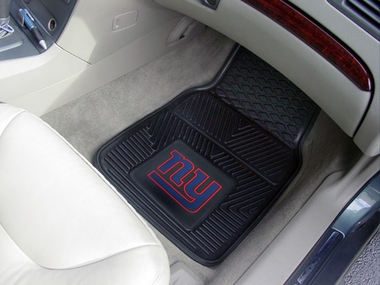 New York Giants 2 Piece Heavy Duty Vinyl Car Mats