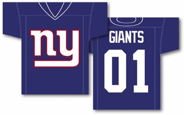 New York Giants 2 Sided Jersey Banner Flag (F)