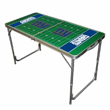 New York Giants 2 x 4 Foot Tailgate Table