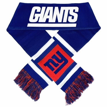 New York Giants 2012 Team Stripe Knit Scarf