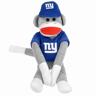 New York Giants 2013 27 Uniform Sock Monkey