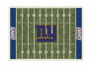 "New York Giants 3'10"" x 5'4"" Premium Field Rug"