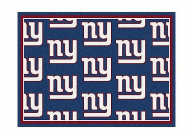 "New York Giants 3'10"" x 5'4"" Premium Pattern Rug"