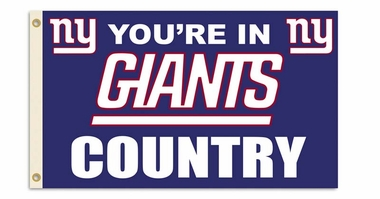 New York Giants 3' x 5' Flag (Country) (F)