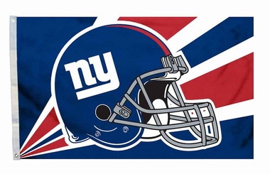 New York Giants 3'x5' Helmet Design Flag