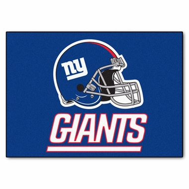 New York Giants 34 x 45 Rug