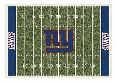 "New York Giants 5'4"" x 7'8"" Premium Field Rug"