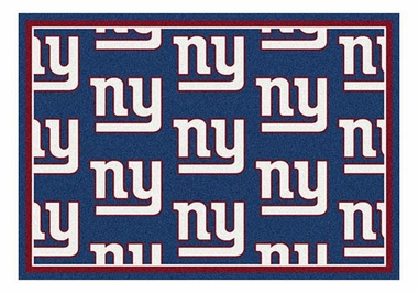 "New York Giants 5'4"" x 7'8"" Premium Pattern Rug"