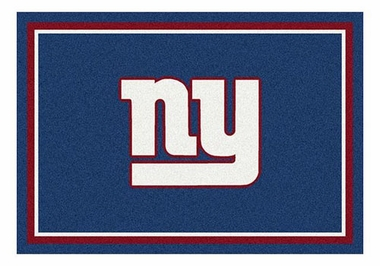 "New York Giants 5'4"" x 7'8"" Premium Spirit Rug"