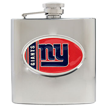New York Giants 6 oz. Hip Flask