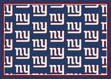 "New York Giants 7'8 x 10'9"" Premium Pattern Rug"