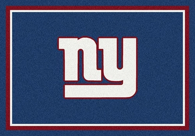 "New York Giants 7'8"" x 10'9"" Premium Spirit Rug"