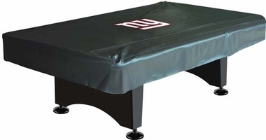 New York Giants 8 Foot Pool Table Cover