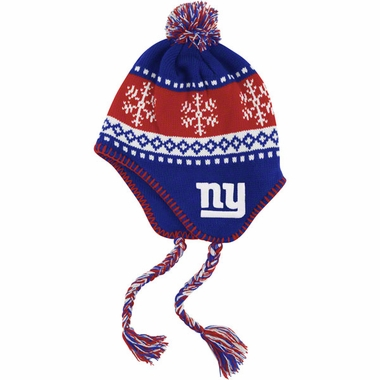 New York Giants Abomination Tassel Knit Hat