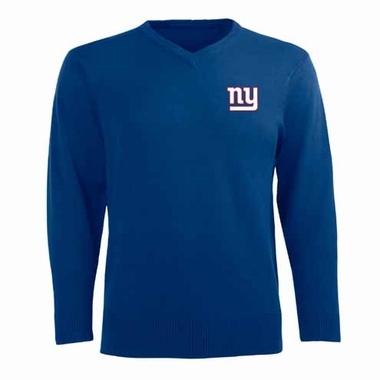 New York Giants Mens Ambassador Sweater (Team Color: Royal)