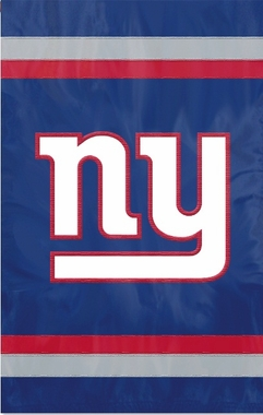 New York Giants Applique Banner Flag