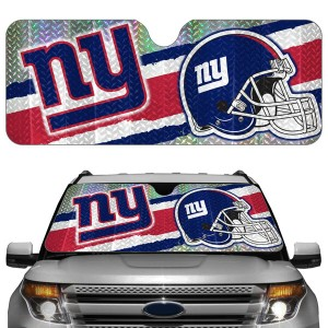 New York Giants Auto Sun Shade
