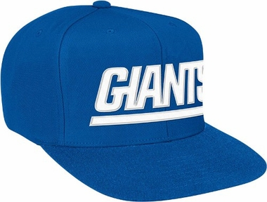 New York Giants Basic Logo Snap Back Hat