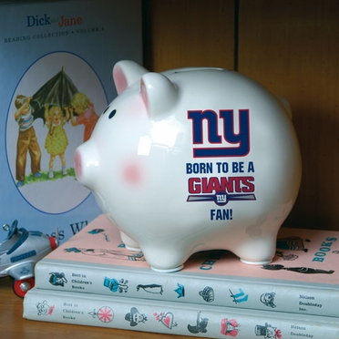 New York Giants (Born to Be) Piggy Bank