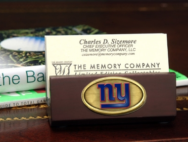 New York Giants Business Card Holder