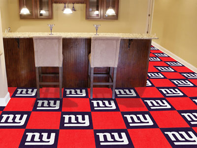 New York Giants Carpet Tiles