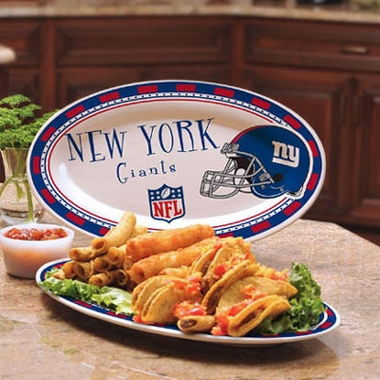 New York Giants Ceramic Platter