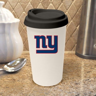New York Giants Ceramic Travel Cup